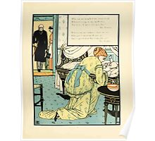 The Buckle My Shoe Picture Book by Walter Crane 1910 65 - Who Sat and Washed My Newborn Head Poster