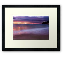 Number Sixteen Beach, Rye Framed Print