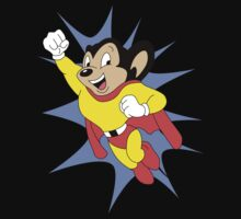 Mighty Mouse  One Piece - Short Sleeve