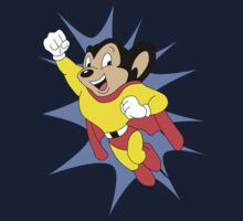 Mighty Mouse  Baby Tee