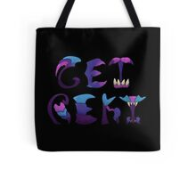 Get Rekt - black background Tote Bag