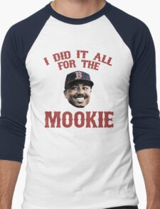 I Did It All For the Mookie - Red Sox Men's Baseball ¾ T-Shirt