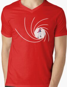 Lupin the 007 Mens V-Neck T-Shirt