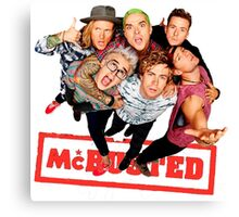 McBUSTED Canvas Print