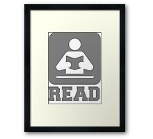 READ  Framed Print