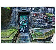 Scottish door way Poster