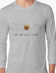 ceci n'est pas un snitch Long Sleeve T-Shirt