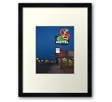 Route 66 and the El Don Motel, Albuquerque Framed Print