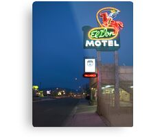 Route 66 and the El Don Motel, Albuquerque Metal Print