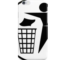 Recycle / Rubbish Icon iPhone Case/Skin