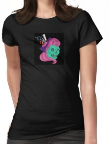 Curl uppp and Dyeee Womens Fitted T-Shirt
