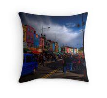 Colourific Camden Town Throw Pillow