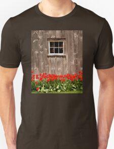 Red Tulips & Barn T-Shirt