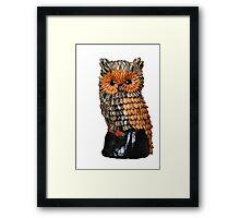 Seed Owl Framed Print