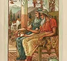 A Wonder Book for Girls and Boys by Nathaniel Hawthorne illustrated by Walter Crane 191 - Philemon and Baucis by wetdryvac