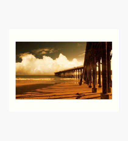 to the horizon Art Print