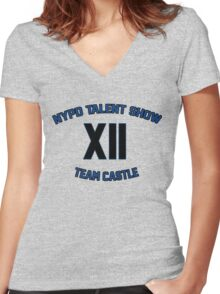 NYPD Talent Show Women's Fitted V-Neck T-Shirt
