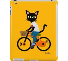 Summer cycling iPad Case/Skin