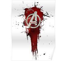 Avengers, Age of Ultron. Splat Poster