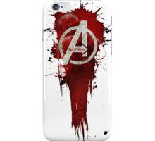 Avengers, Age of Ultron. Splat iPhone Case/Skin