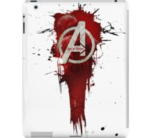 Avengers, Age of Ultron. Splat iPad Case/Skin