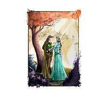 Aragorn and Arwen in Rivendell Photographic Print