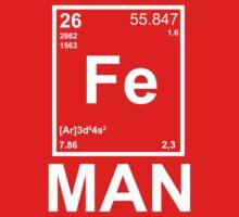 Fe (Iron) Man One Piece - Short Sleeve