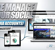 Social Media Management Services by wedofollowers