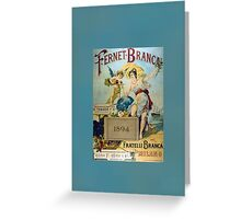 Italy Vintage Greeting Card