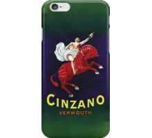 Cinzano Vermouth iPhone Case/Skin