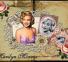 MARILYN MONROE,VINTAGE ART by CINDYLOU951