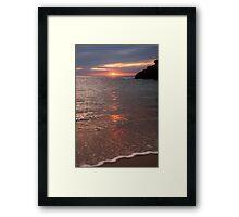 Sunset Sorrento Framed Print