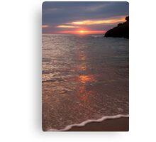 Sunset Sorrento Canvas Print