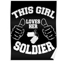 THIS GIRL LOVES HER SOLDIER Poster