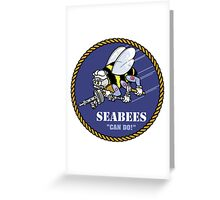 US NAVY SEABEES CAN DO! Greeting Card
