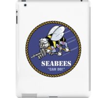 US NAVY SEABEES CAN DO! iPad Case/Skin
