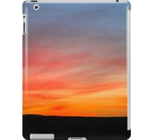 Desert sunset Photographed in Israel, Negev iPad Case/Skin