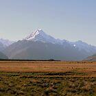 Mount Cook at Sunset by Wendy  Meder