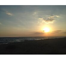 Aiya Napa Sunset Photographic Print