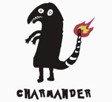 Charmander Tattoo t-shirt by Iva Ivanova