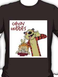Calvin And Hobbes Together Artwork T-Shirt