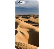 wind shaped Desert sand dune iPhone Case/Skin