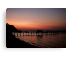 Shelly beach,Mornington Pennisula Canvas Print