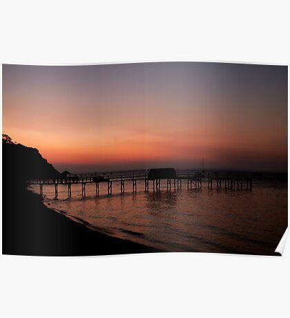 Shelly beach,Mornington Pennisula Poster