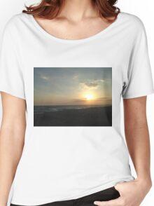 Aiya Napa Sunset Women's Relaxed Fit T-Shirt