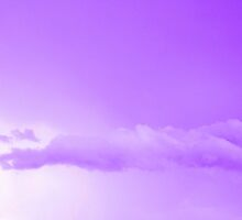 Purple Cotton Candy Clouds by moonshinepdise