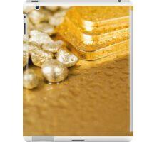 pure gold iPad Case/Skin