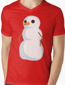 Cartoon Frozen Snowman T-Shirt