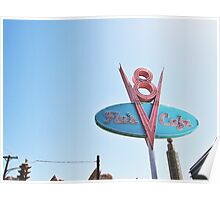 Flo's Cafe In DCA  Poster