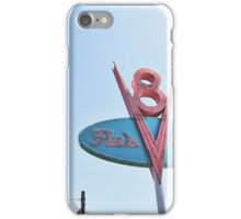 Flo's Cafe In DCA  iPhone Case/Skin